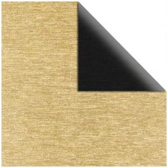 Metalický scrapbookový papier / 12x12 / 250g/m2 / zlatá-čierna