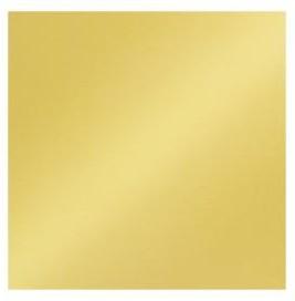 Scrapbookový papier / 12x12 / 200g/m2 / metalický zlatý lesklý