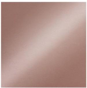 Scrapbookový papier / 12x12 / 200g/m2 / metalický medený lesklý