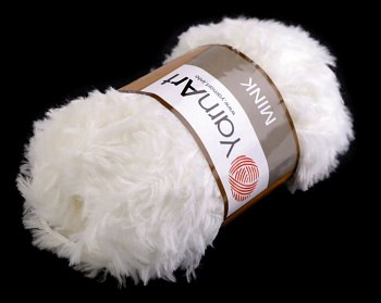 Yarn Mink / 50g / white 330