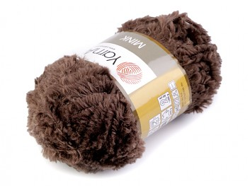 Yarn Mink / 50g / brown 333