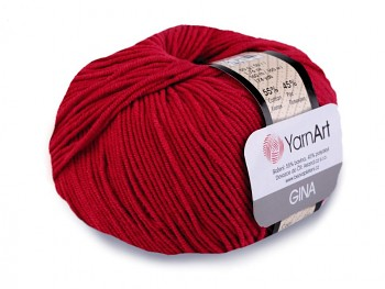 Yarn Jeans (Gina) / 50g / red 51