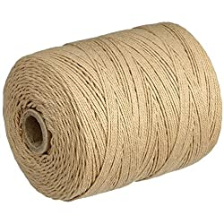 Warp thread 0.8mm ø, 220m, beige