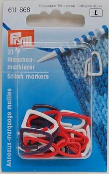 Stitch markers / 21pcs