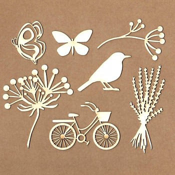 "Chipboards - Set ""Magic Day"" / 7ks"