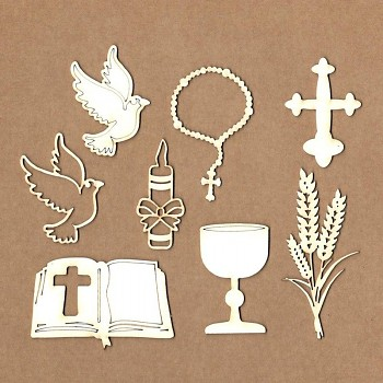"Chipboards - Set ""Communion"" / 8ks"