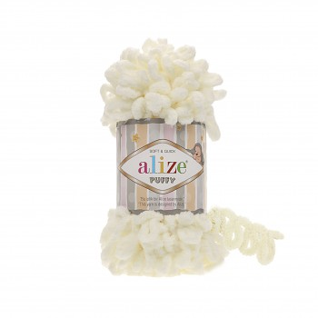 Alize Puffy / 100g / 62 Light Cream