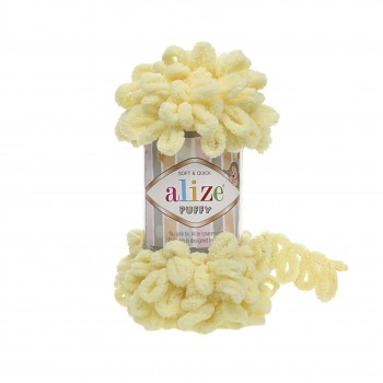 Alize Puffy / 100g / 13 Light Yellow