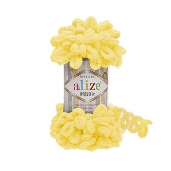 Alize Puffy / 100g / 216 Yellow