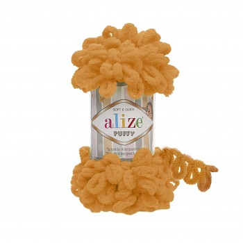 Alize Puffy / 100g / 336 Orange