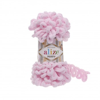 Alize Puffy / 100g / 31 Baby Pink