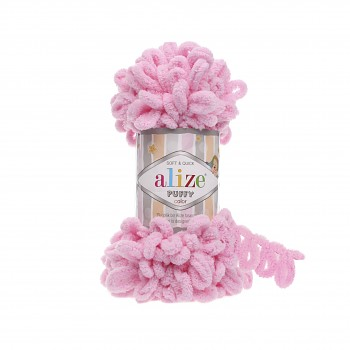 Alize Puffy / 100g / 185 Pink