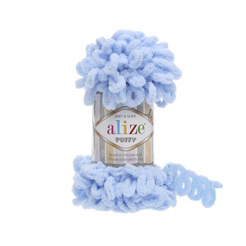 Alize Puffy / 100g / 183 Light Blue