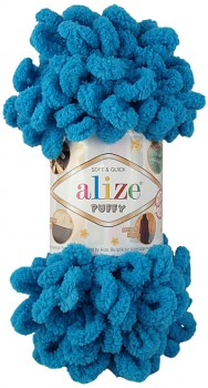 Alize Puffy / 100g / 16 Sochi Blue