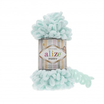 Alize Puffy / 100g / 15 Water Green