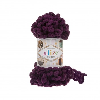 Alize Puffy / 100g / 111 Plum