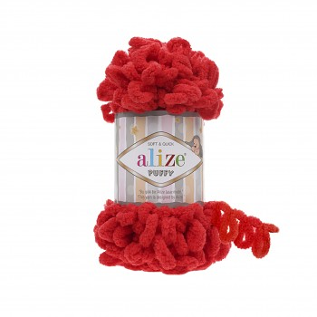 Alize Puffy / 100g / 56 Red