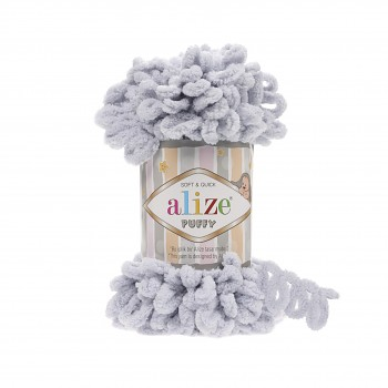 Alize Puffy / 100g / 416 Grey