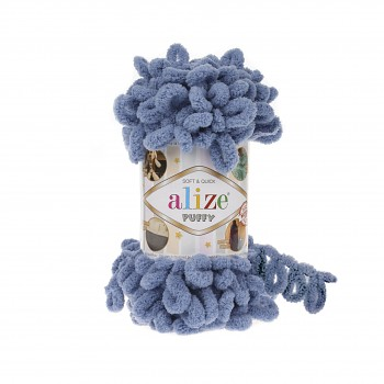 Alize Puffy / 100g / 374 Blue