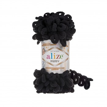 Alize Puffy / 100g / 60 Black