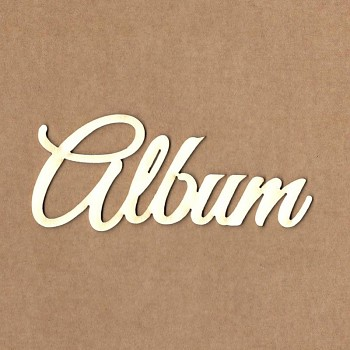Chipboards - Album / 4x9,5 cm / 1ks