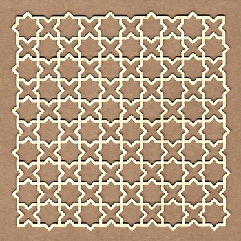 Chipboards - Andalusian background / 12x12cm / 1ks