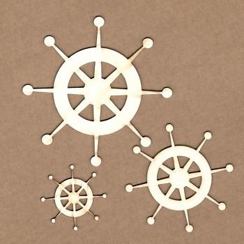 Chipboards - Kormidlo / 8.2 cm, 4.8 cm, 4 cm / 3ks