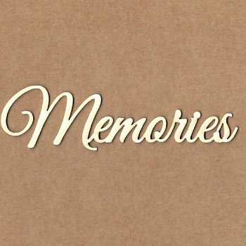 Chipboards - Memories / 10,5cm / 1ks