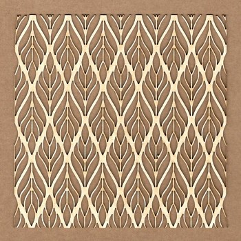 Chipboards - Deco spike background /  12x12cm / 1ks