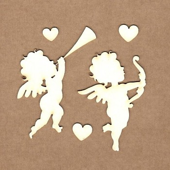 Chipboards - Cupid / 6.5x5.5 cm