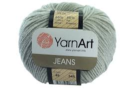 Yarn Jeans (Gina) / 50g / gray 49