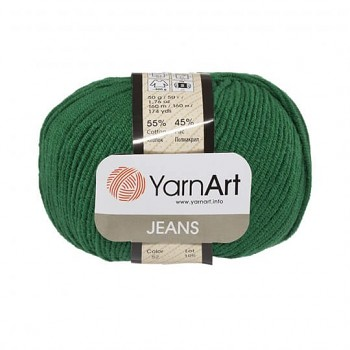 Yarn Jeans (Gina) / 50g / green 52