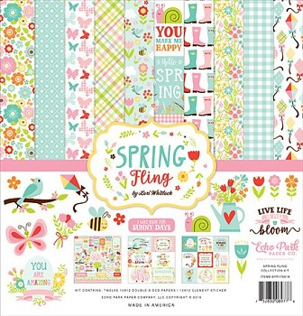 Spring Fling 12x12 / Collection Kit