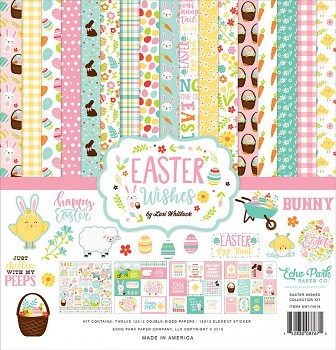 Easter Wishes 12x12 / Collection Kit