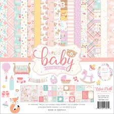 Hello Baby Girl 12x12 / Collection Kit