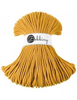 Bobbiny Cotton Cord Premium 5mm / 100m / Mustard