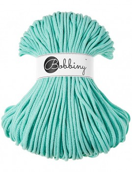 Bobbiny Cotton Cord Premium 5mm / 100m / Mint