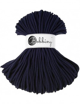Bobbiny Cotton Cord Premium 5mm / 100m / Navy Blue