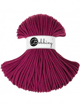 Bobbiny Cotton Cord Premium 5mm / 100m / Grape