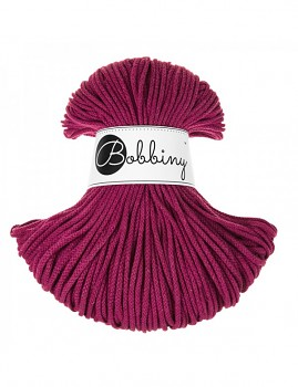 Bobbiny Cotton Cord Junior 3mm / 100m / Grape