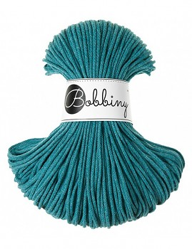 Bobbiny Cotton Cord Junior 3mm / 100m / Teal