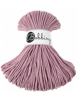 Bobbiny Cotton Cord Junior 3mm / 100m / Dusty Pink