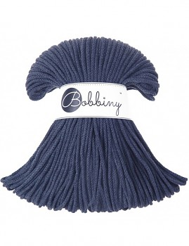 Bobbiny Cotton Cord Junior 3mm / 100m / Denim