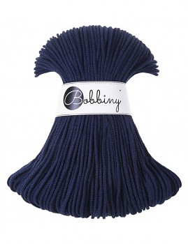 Bobbiny Cotton Cord Junior 3mm / 100m / Navy Blue
