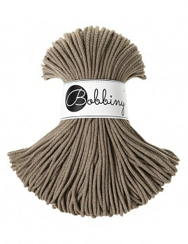 Bobbiny Cotton Cord Junior 3mm / 100m / Coffee