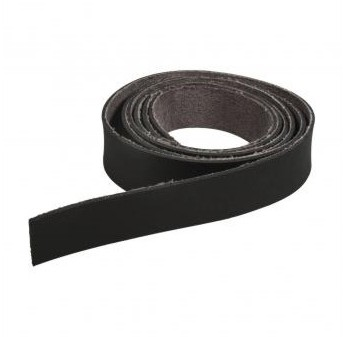 Kožený remienok 138 x 2cm / čierny