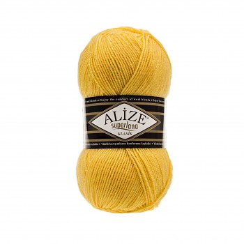 Yarn Superlana Klasik / 100g / Yellow 488