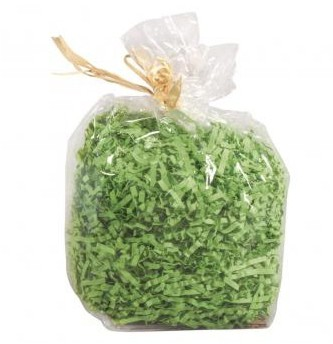 Paper decorative herbage, bag 50g, grass green