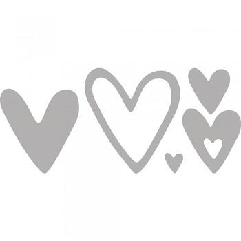 Vyrezávacie šablóny / Hearts