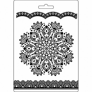 форма A5 - Doily pattern